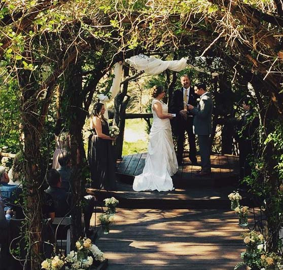 Southern California Forest Wedding Venue Pine Rose Weddings