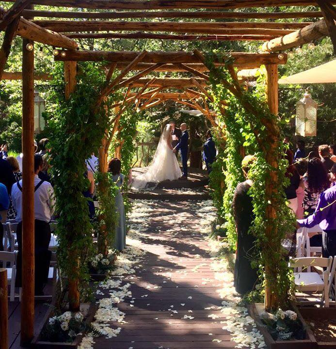 Pine Rose Weddings Aisle at Hidden Creek