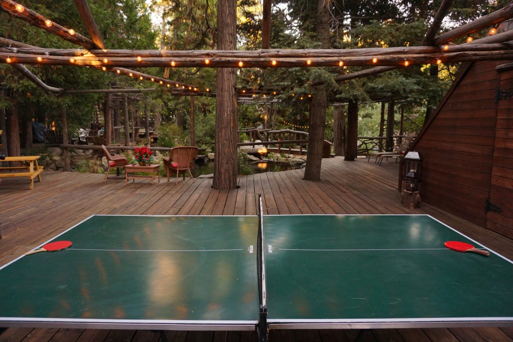 Storybook Cottage Ping Pong Table